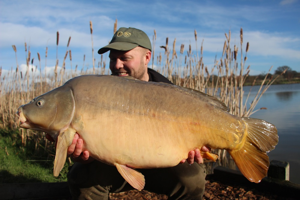 Carl with a 30lb mirror