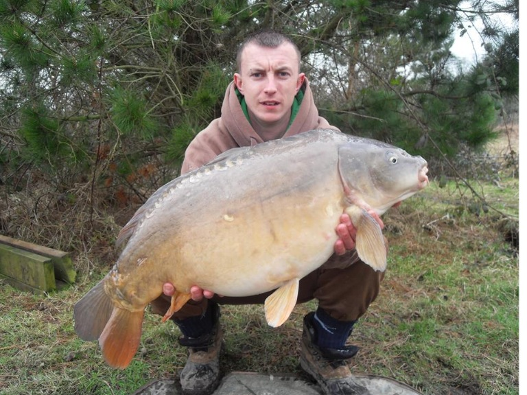 Shane Henman with a 22-pounder