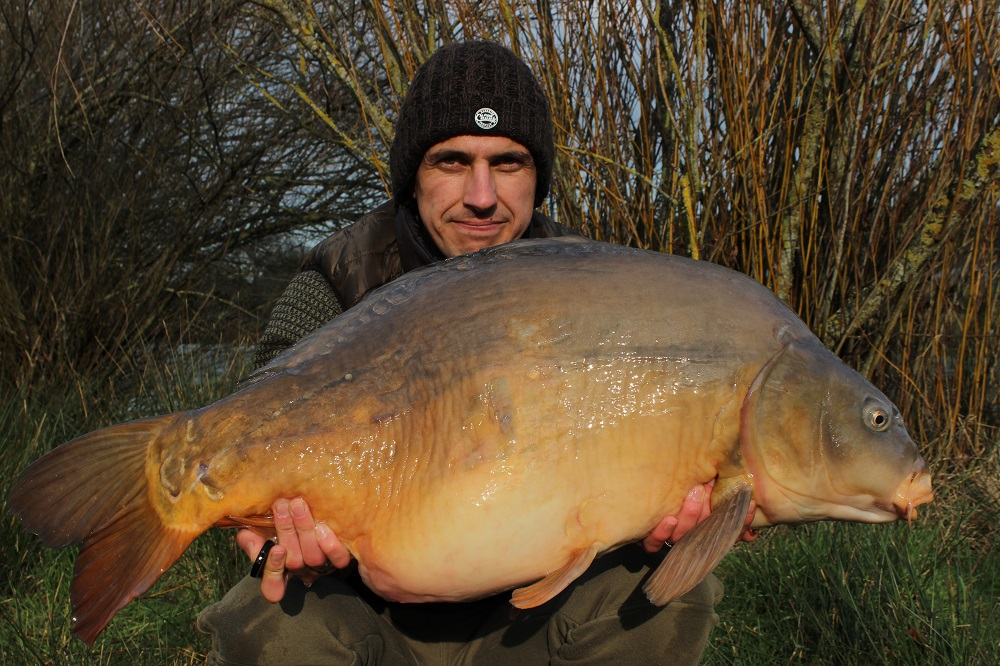 The 36lb 12oz mirror.