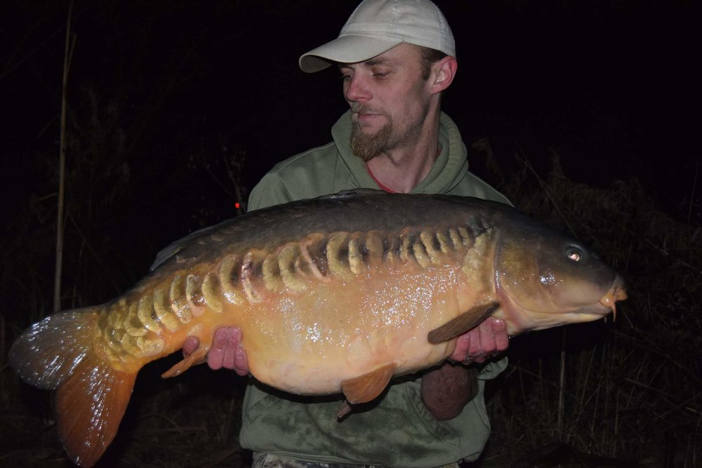 Gavin's 38lb 4oz mirror was the best of 13.