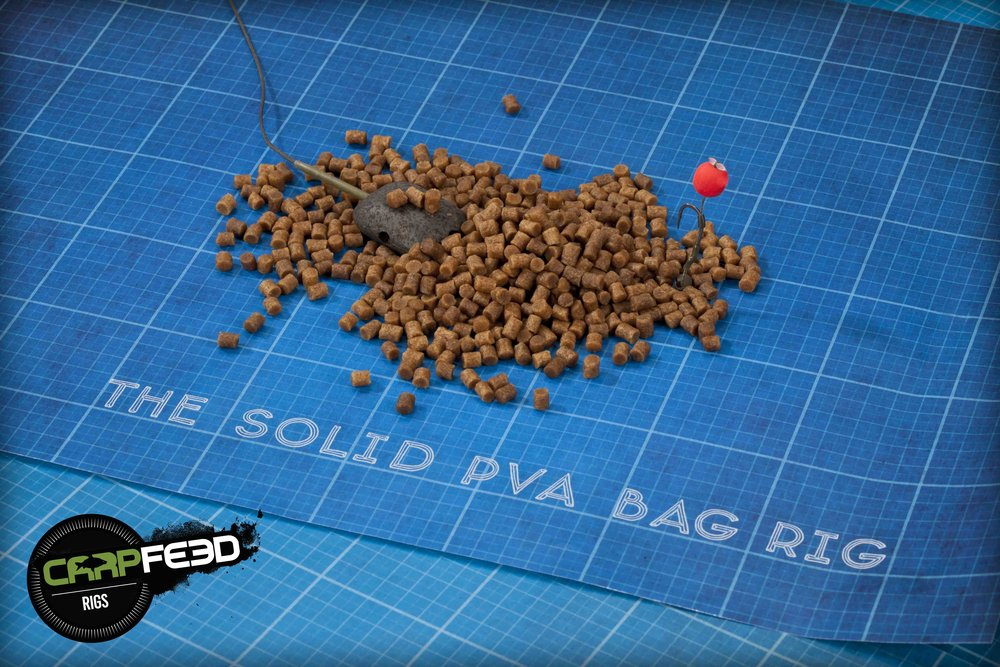 Mark Pitchers' solid PVA bag rig is simple but very effective