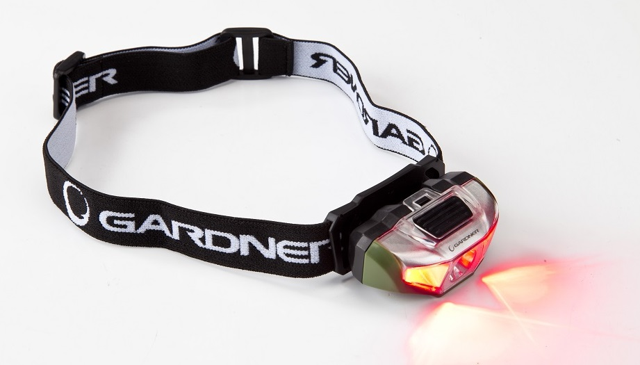 Red LED helps maintain your night vision