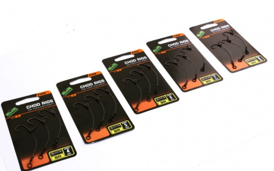 Ready-tied rigs are a great introduction to fishing chods