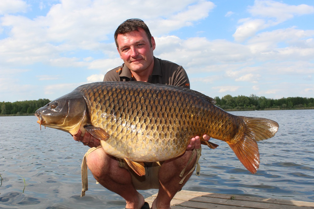 Rob fed 7kg in 40 hours for 17 fish, including this forty