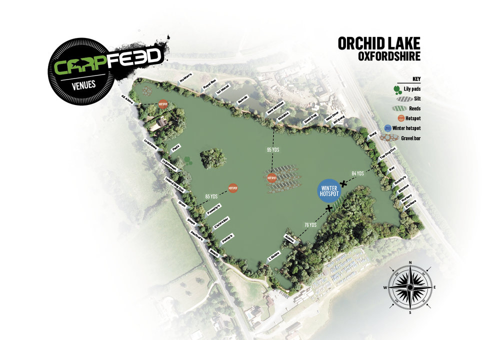 orchid lake feature map Orchid Lake Carpfeed orchid lake feature map