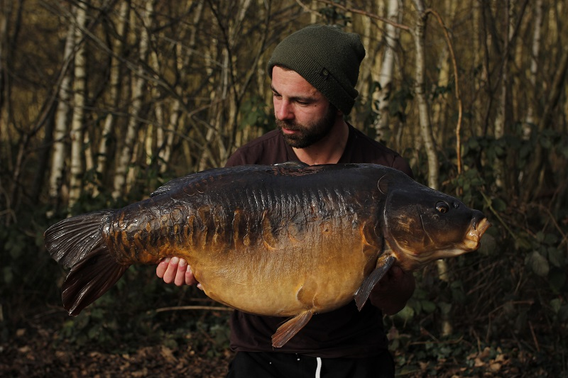 Nige's Fish at a super-honest 39lb 15oz!