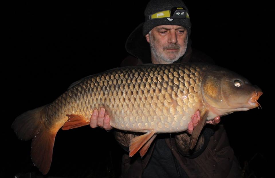A new pb of 27lb 12oz for Keith Maker