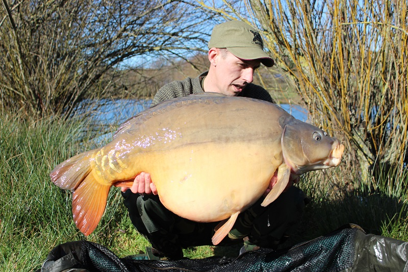 The biggest of the lot went 46lb 4oz