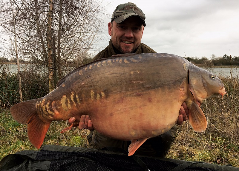 Stuart Wigg with his new personal best