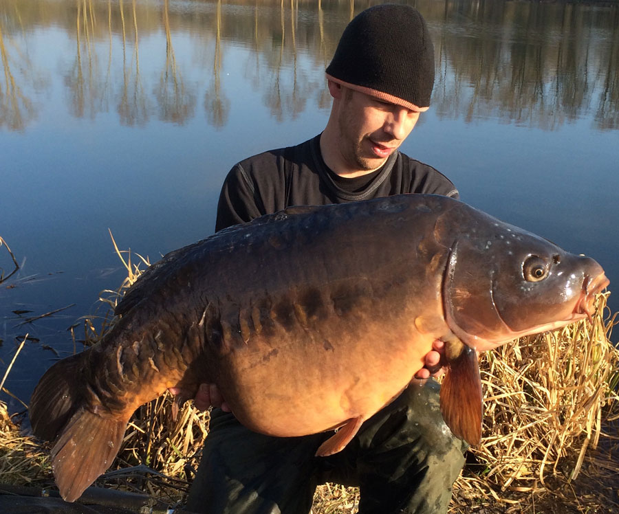 This mirror weighed 29lb 2oz