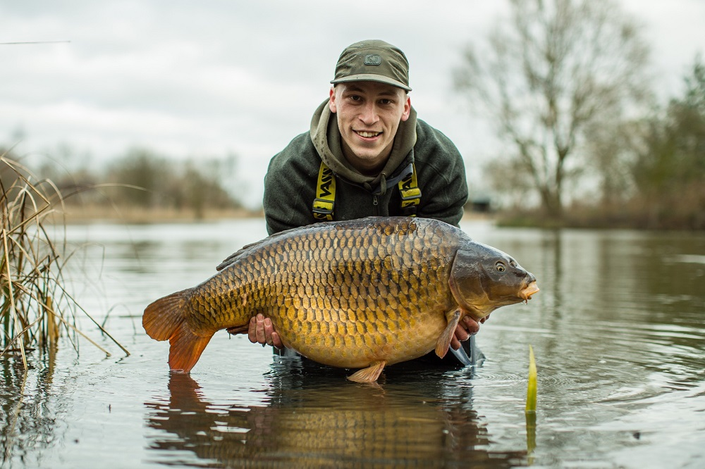 This fish, known as the Baby Common, went 40lb 2oz