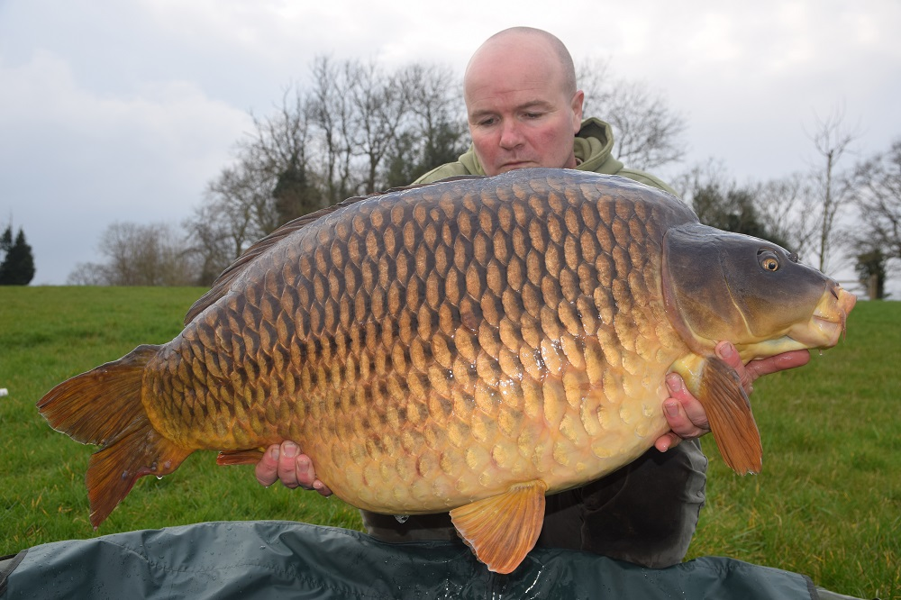 Paul Thomas with his new pb