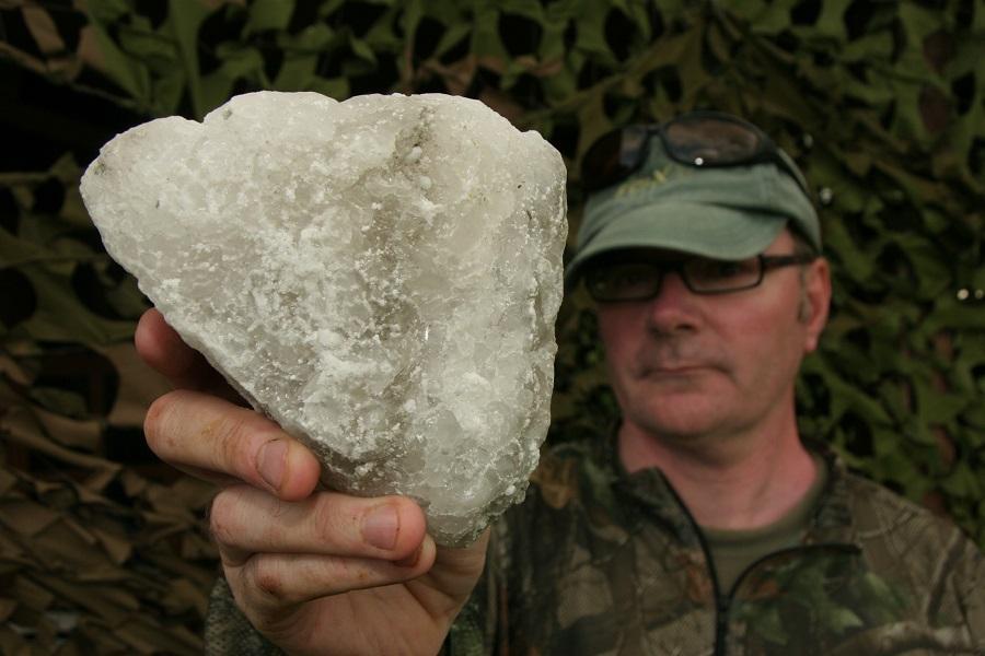 Rock salt is often misunderstood, according to Mark