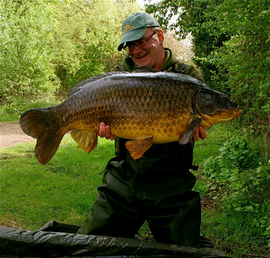 This Cambs mid-30 came from a spot primed with salt before spawning