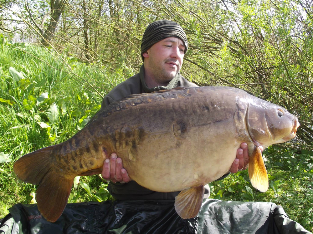 30lb 14oz of Bantons mirror