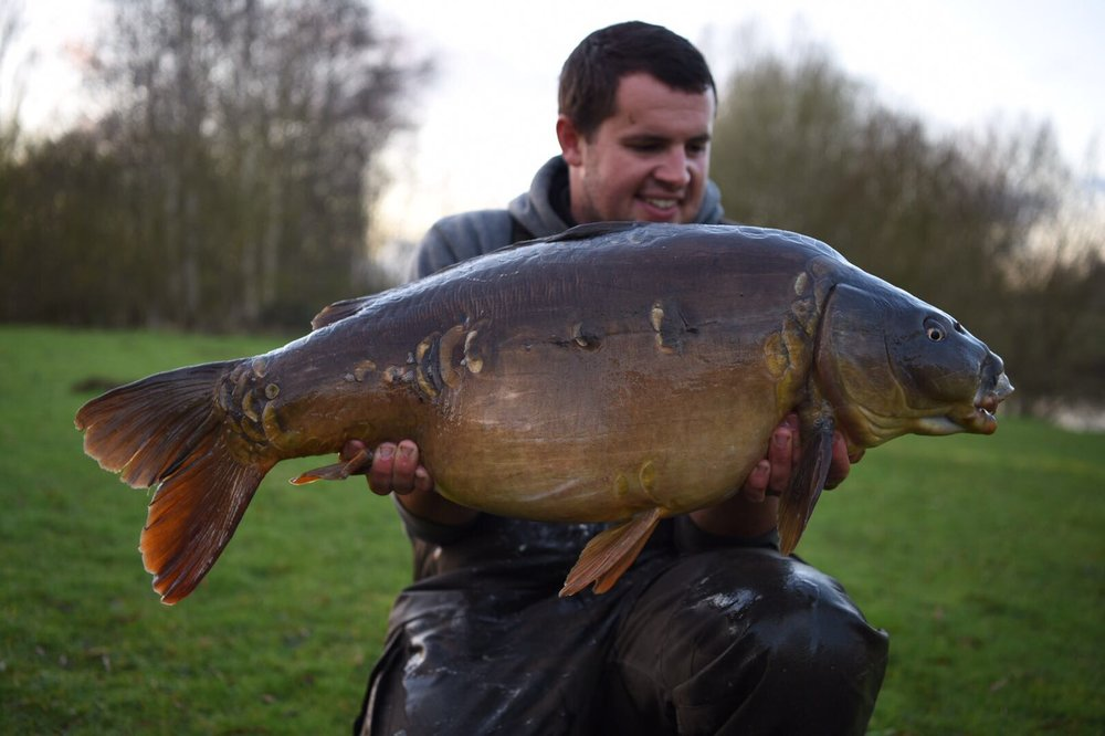 The biggest of the session went 30lb 6oz