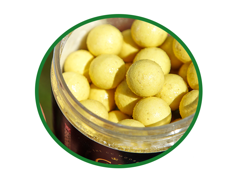 Leave the baits to absorb the goodness for a few days before using them.