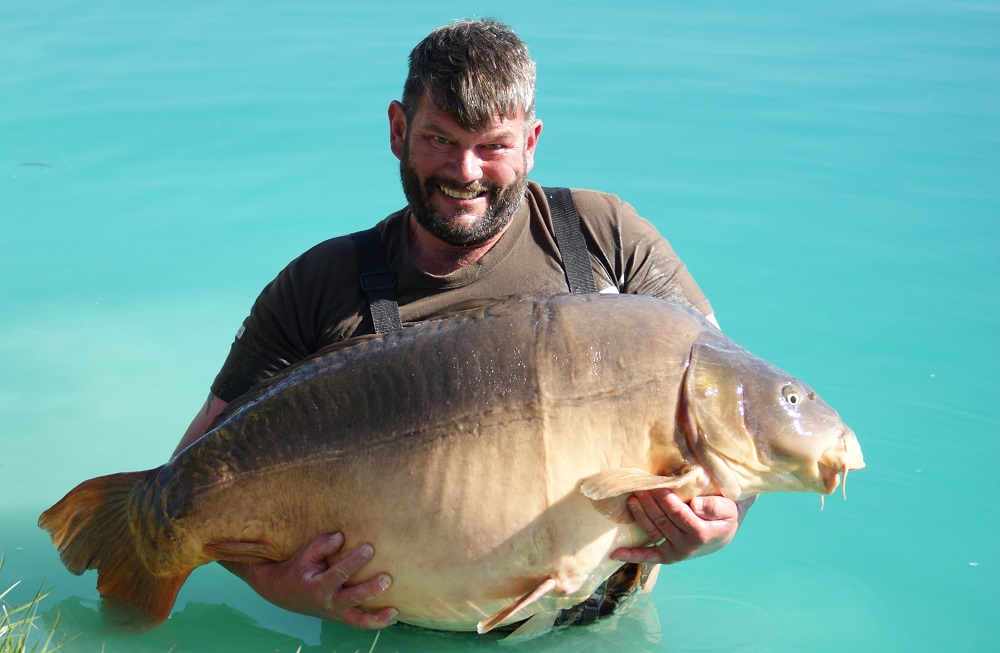 The Scarred Fish at 91lb 8oz for Andy Swain