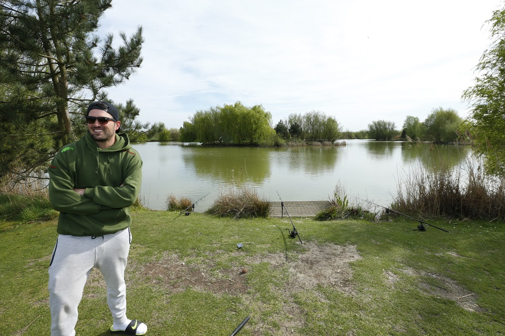 Ricky at Crowsheath Fishery in Essex