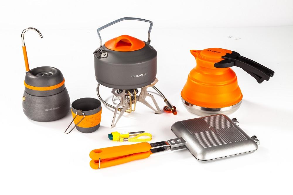 The complete Chub Vanatage cookware range