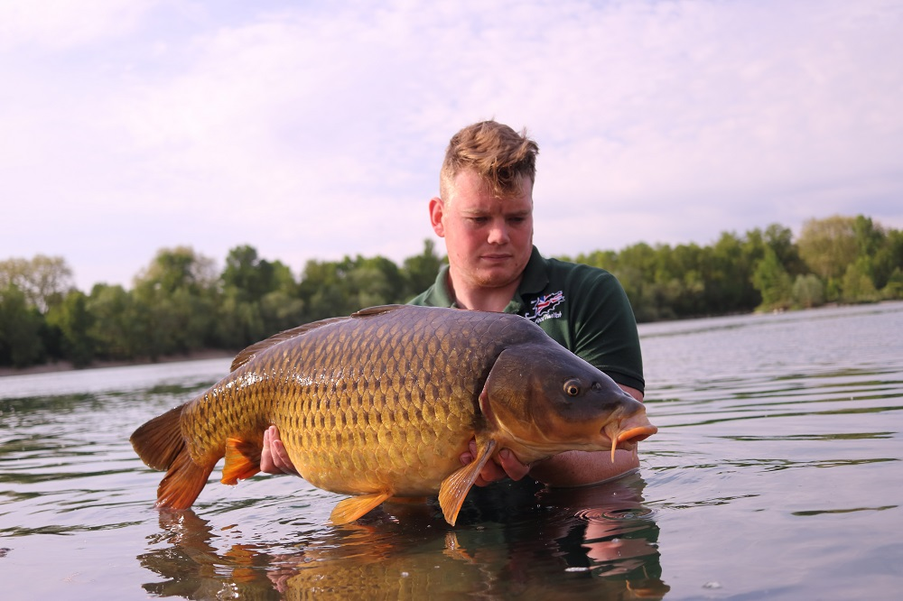 A 29LB common for James