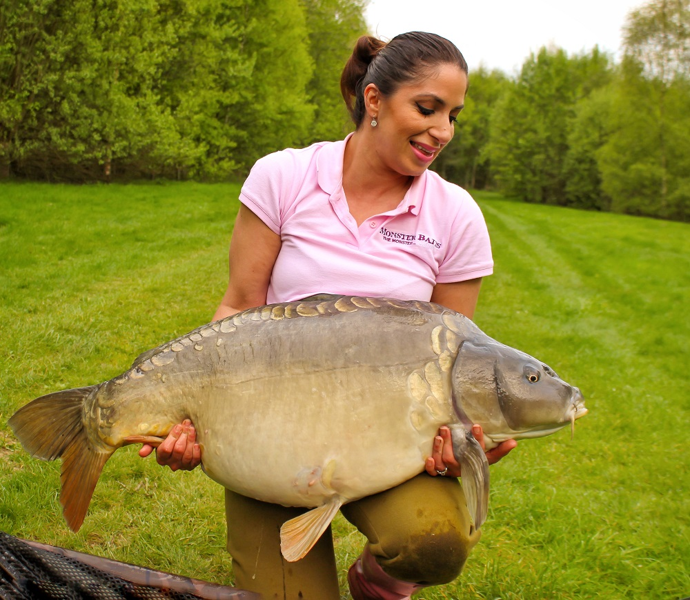 44lb 2oz of Kent mirror
