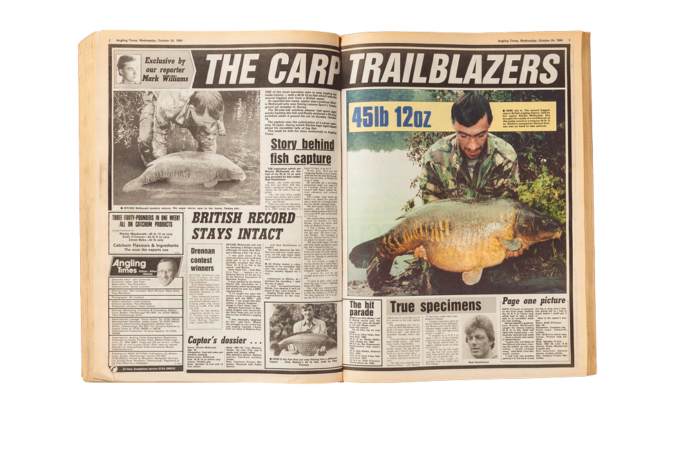 How Angling Times broke the news more than 30 years ago