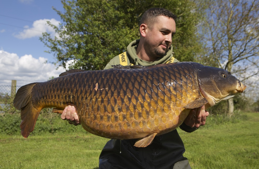 Spitfire's other big common was caught at 47lb last month. CLICK FOR FULL STORY