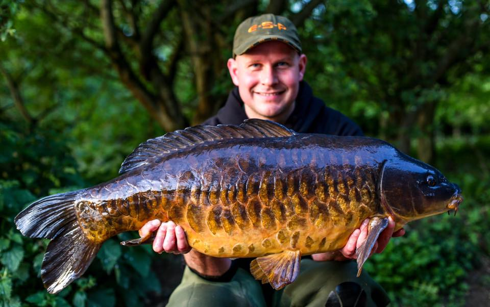 This stunning 28lb 8oz mirror was part of Kev's haul