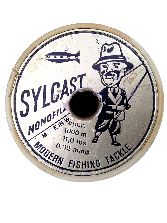 11lb Sylcast line was used by many anglers in the early 1990s