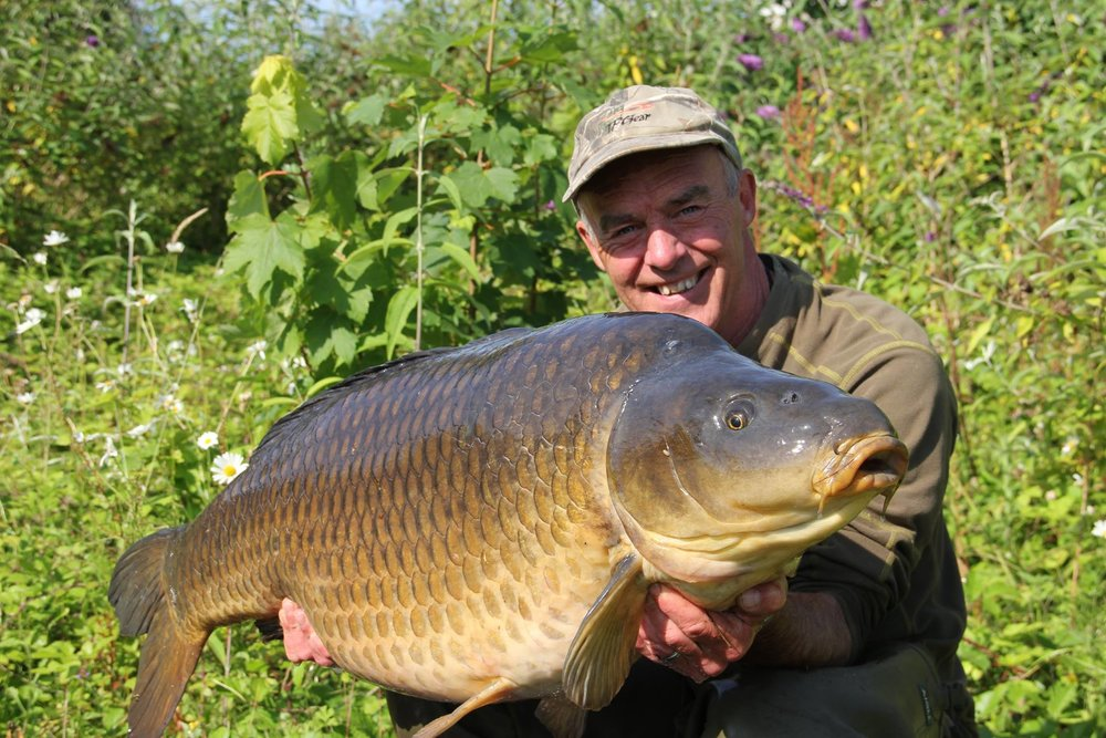 Dave caught the Burghfield Common at 55lb