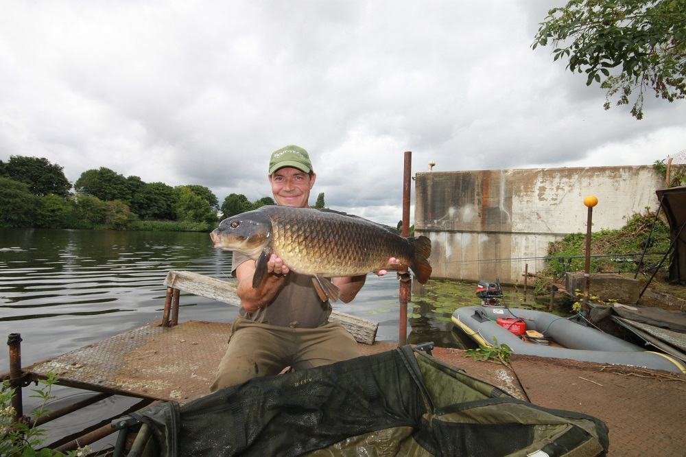 A Trent common caught by Ian live for the cameras