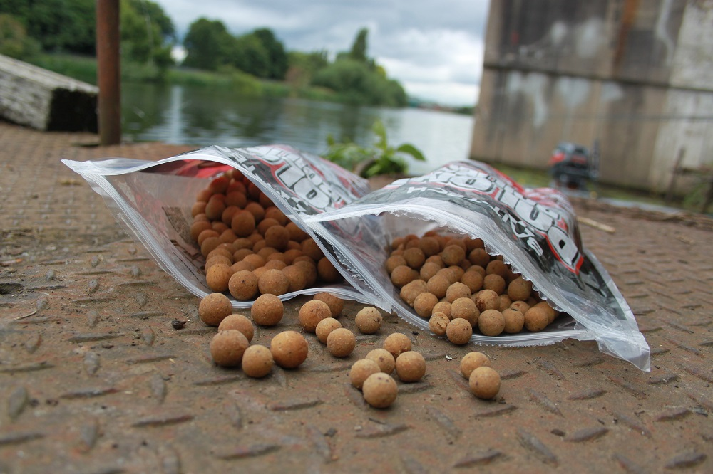 A couple of kilos of freezer baits are ample