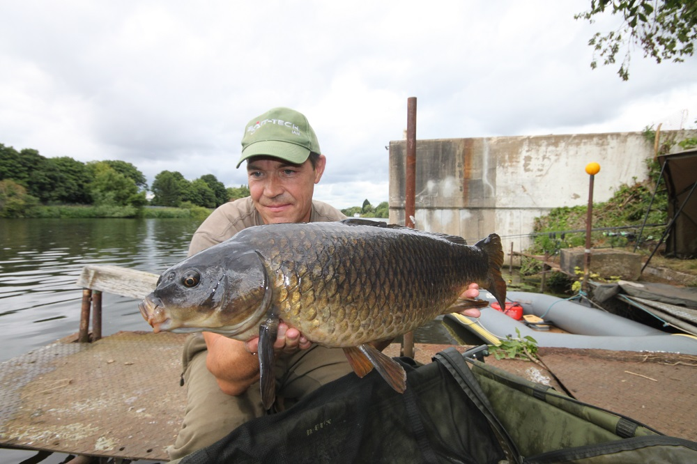 Ian's common has adapted perfectly to life in the river