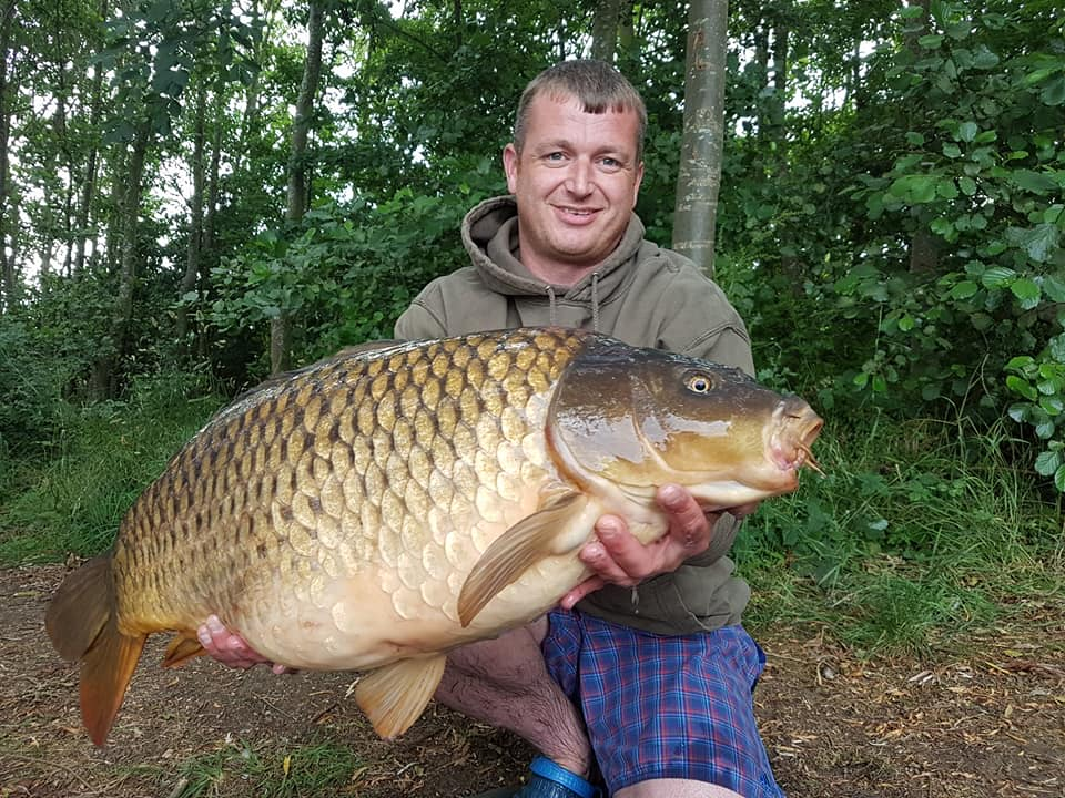 Gavin Lambert caught this 22lb common during the weekend