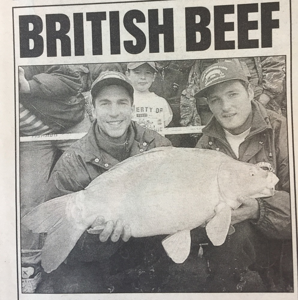 How Angling Times reported the win in 1996