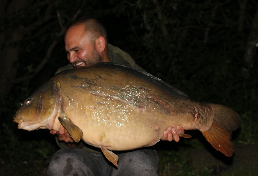 The big mirror went 47lb 15oz