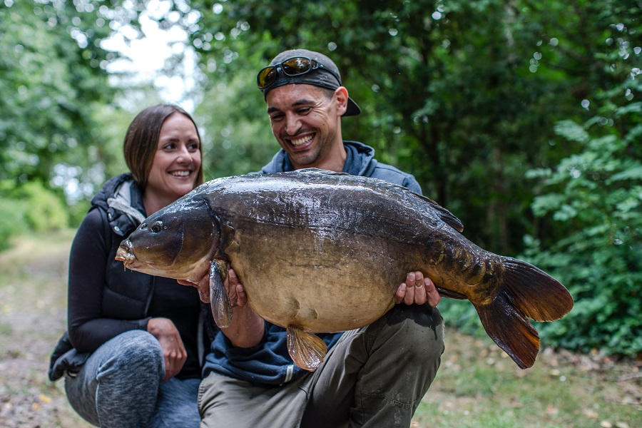 The look of love! This 42lb 12oz mirror was the first of the haul