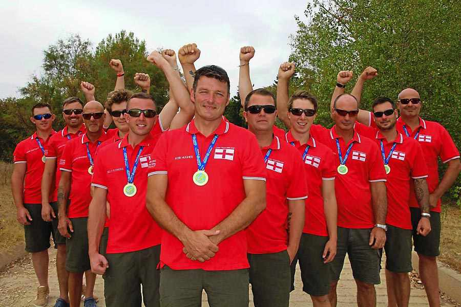Rob is now the manager of Carp Team England