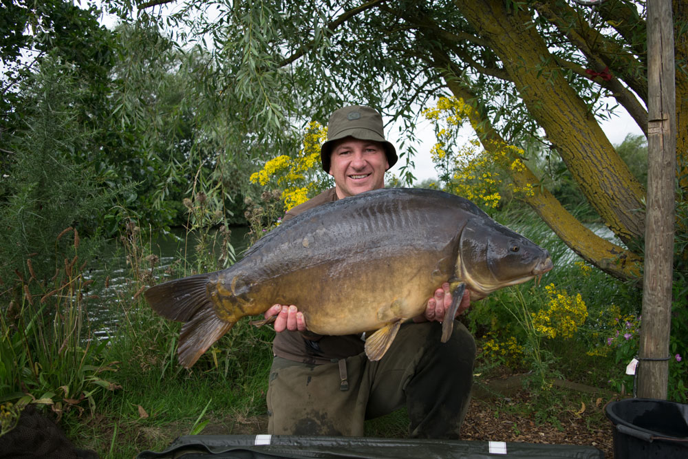 One of the ones he wanted, at 43lb 2oz