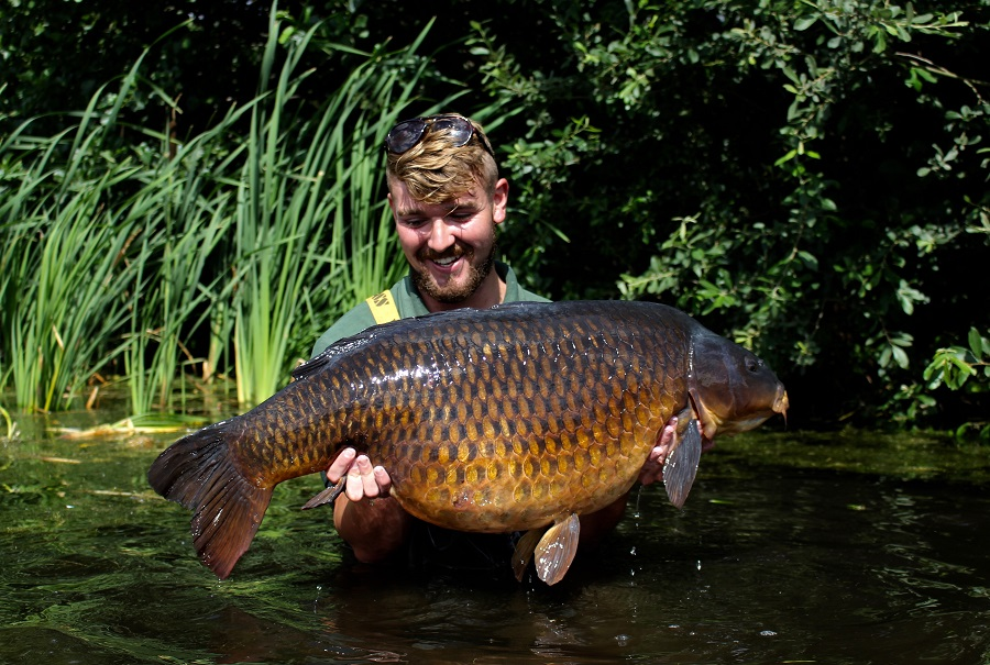 It's the first time this common has weighed over 40lb