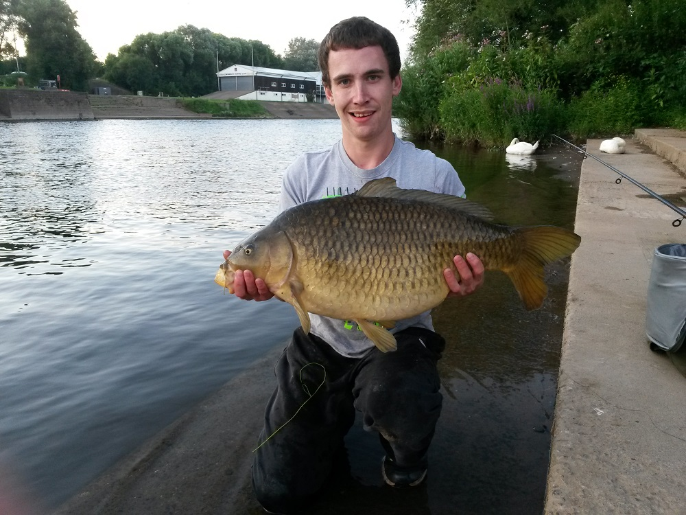 Adam's River Wye carp is a real turn up