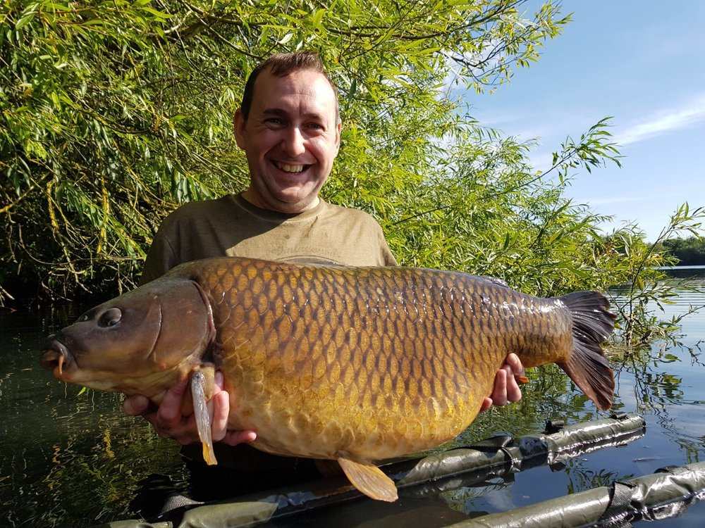 first visit to linch hill brings box common carpfeed