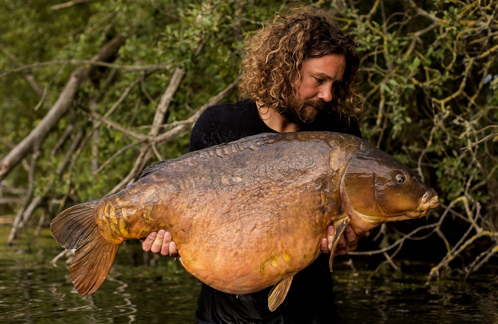 What a beast. Colin at 51lb 4oz