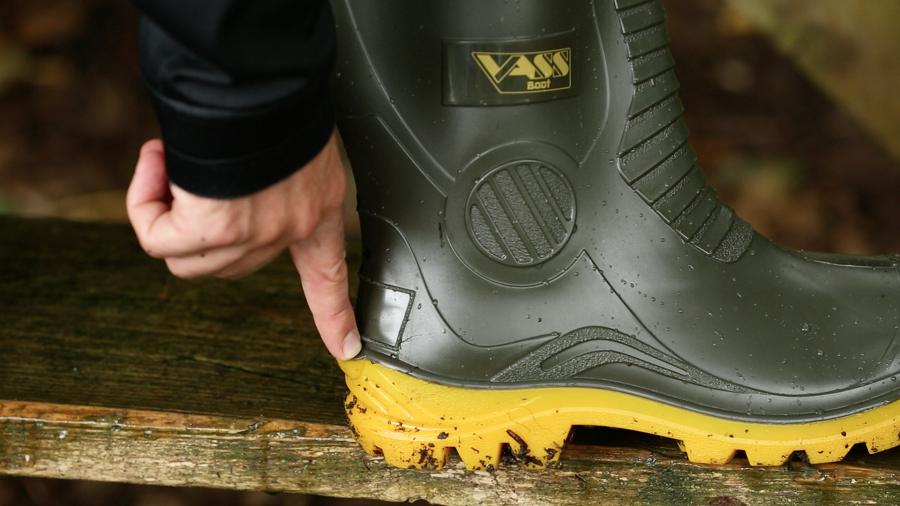 Heel kicker is a great touch