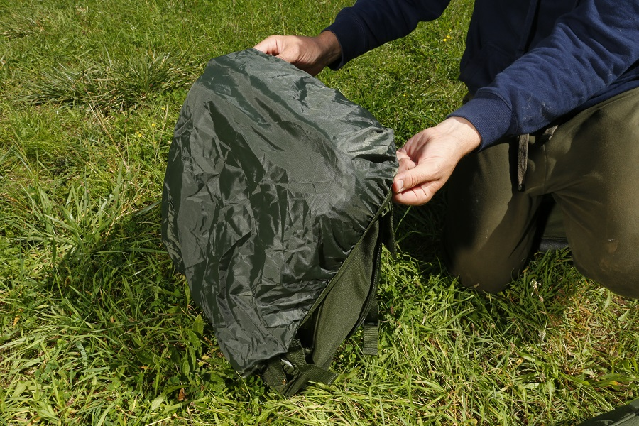 The stowaway waterproof cover