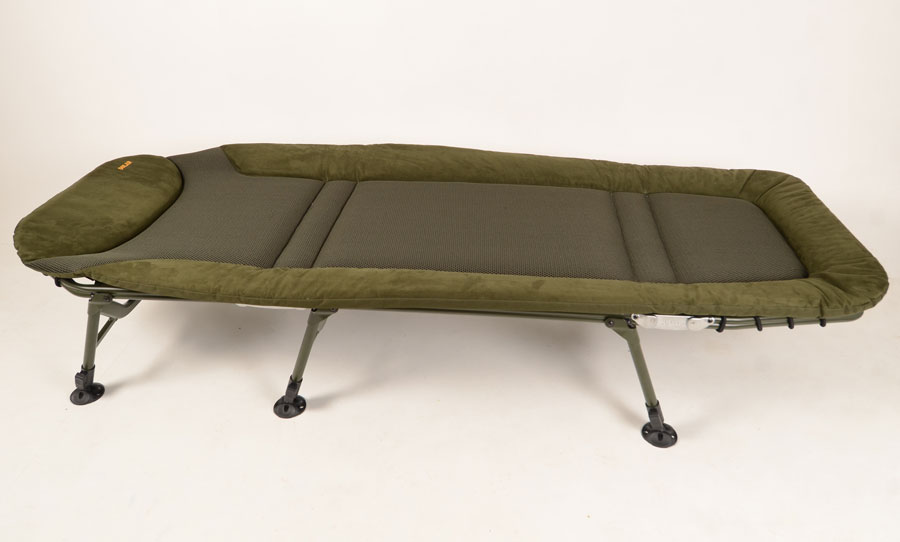 The SP C-Tech is Solar's first bedchair