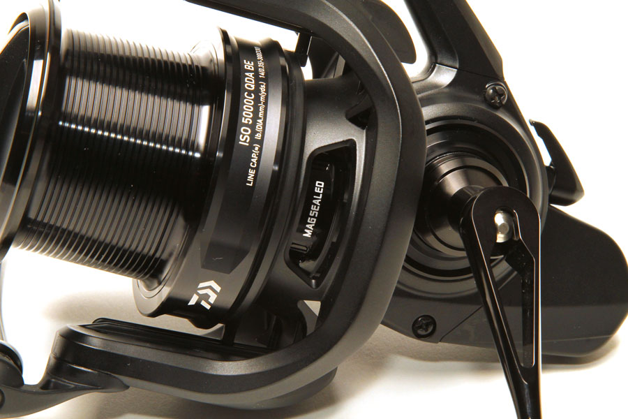 Daiwa's magnetically sealed bodies are seriously impressive