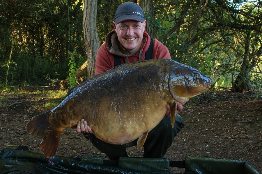 Ed with Colin at 50lb 10oz.