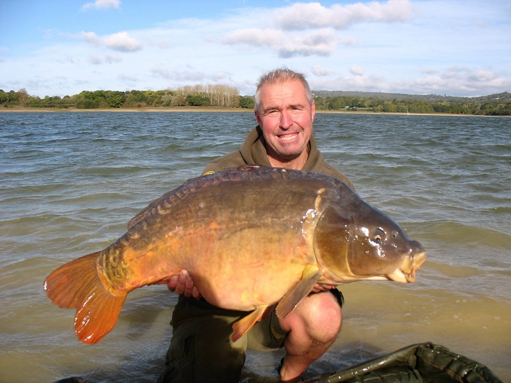 The fish took a 28mm boilie on a size 2 hook